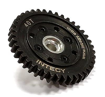 Integy Hobby RC Model T8718SILVER Billet Machined HD Spur Gear 40T for HPI Ken Block WR8 3.0
