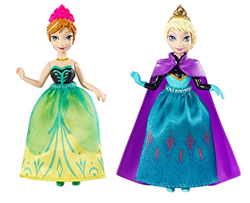 Disney Frozen Sisters (Disney Frozen Princess Sisters Celebration Anna and Elsa Small Doll, 2-Pack)