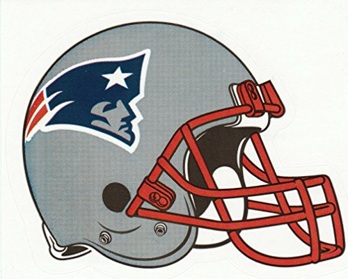 aa g 4 Stickers Patriot Die Cut Stickers NFL Football Helmet Logo Sticker Team Set Boston Pats