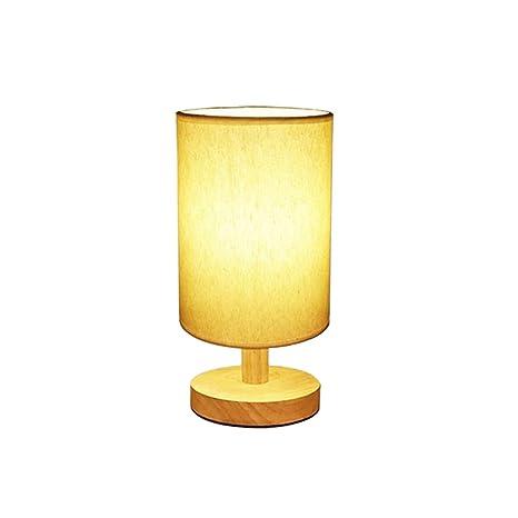 Ledmomo Bedside Table Lamp E27 3w Minimalist Solid Wood Table Lamps