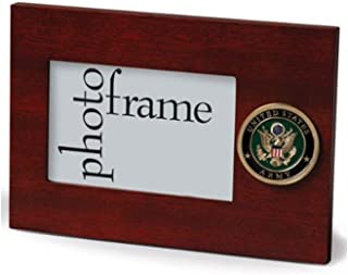 product image for flag connections US Army Medallion Desktop Landscape Picture Frame - 4 x 6 Inch