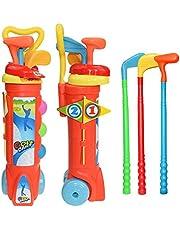 مجموعة العاب نادي الغولف للاطفال من هوم ديكال، هدية للاولاد والبنات تعزز النمو البدني والعقلي