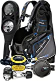 Aqua Lung Assembled Essential Scuba Gear Package Dive Computer BCD Regulator Set, Medium