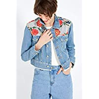 Jaqueta Jeans Patch AZUL MEDIO/G