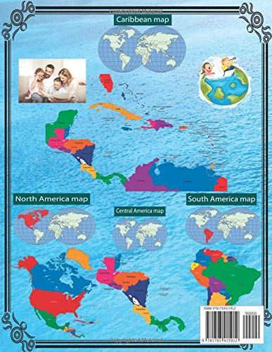 Maps Of All Countries In North And South America Smart Family