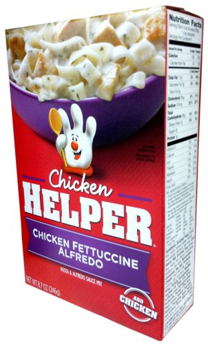 Betty Crocker Chicken Pasta - Betty Crocker CHICKEN FETTUCCINE ALFREDO Chicken Helper 8.7oz (2 Pack)
