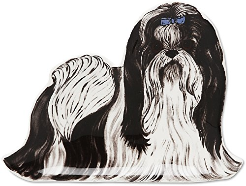 Rescue Me Now Shih Tzu Spoon Rest, 5-1/4-Inch