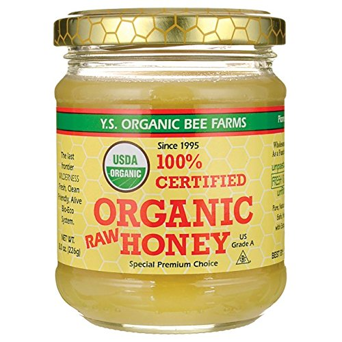Price comparison product image Y.S. Eco Bee Farms 100% Certified Organic Raw Honey 8 oz (226 grams) Paste