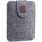 Kindle Paperwhite Sleeve - Kindle Voyage, Protective Felt Cover Case Pouch Bag for Amazon Kindle Paperwhite - Voyage (Light Grey) - Kindle Case
