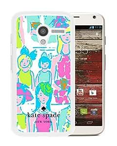 Kate Spade 21 White Motorola Moto X screen cellphone Case Custom and Grace covers
