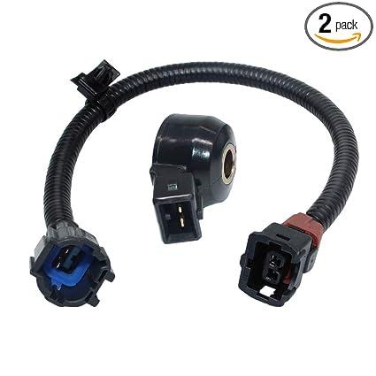 Amazon.com: 22060-30P00,2206030P00 Knock Sensor With Wiring Harness on nissan radiator, nissan lights, nissan fuel pump, nissan timing chain, nissan fuse, nissan speedometer, nissan body harness, nissan transformer, nissan water pump, nissan timing belt, nissan starter, nissan brakes, nissan oil filter, nissan engine, nissan ecu, nissan exhaust, nissan radio harness, nissan headlights, nissan alternator, nissan throttle body,
