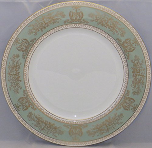 (Wedgwood Columbia-Sage Green Rim Salad Plate (Imperfect))