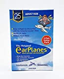 EarPlanes Ear Plugs 1 Pair (Pack of 5)