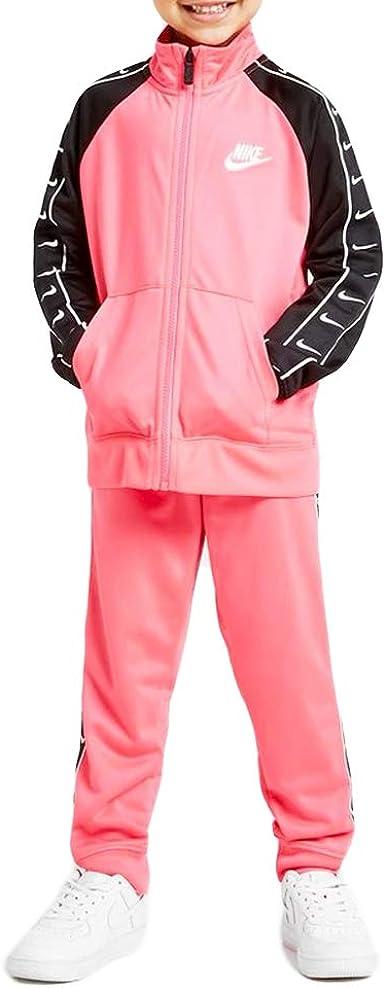 Existe bobina Objetivo  Nike Swoosh Tape Tricot - Chándal para niña, color rosa, 36G343-A8F:  Amazon.es: Ropa y accesorios