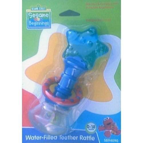 Water-filled Teether Rattle - BPA Free (Colors Vary) [parallel import goods]