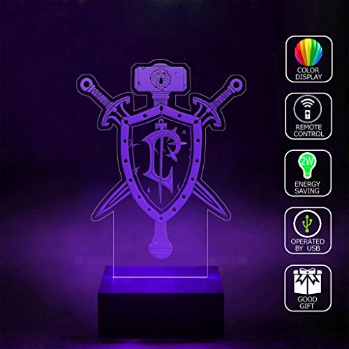 sanjie-human-crest-wow-logo-3d-lamp-rgb-full-color-44-key-remote-control-usb-cable-led-night-light-b