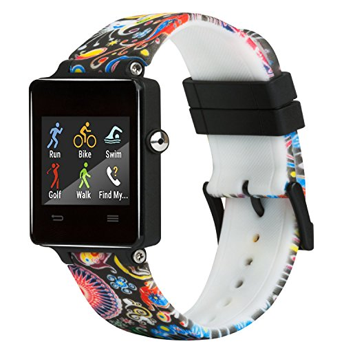 For Garmin Vivoactive bands Silicone Replacement Smart Wrist Watch Accessory Band Strap for Garmin Vivoactive, One Size