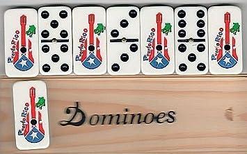 Puerto Rico Domino set (Cuatro) by latinos r us: Amazon.es ...