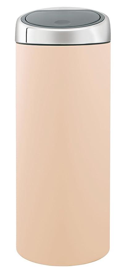 Touch Bin 30 Liter.Brabantia Touch Bin 30 L Almond