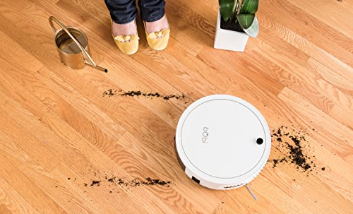 bObi Classic Robotic Vacuum Cleaner, Snow