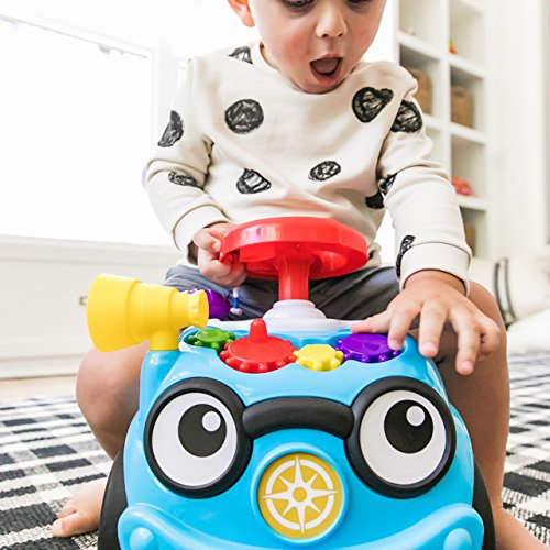 Baby Einstein Roadtripper Ride-On Car and Push Toddler Toy with Real Car Noises, Ages 12 months and up