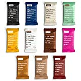 RxBar Real Food Protein Bars, ALL Flavors Variety Pack, 11 Flavors w/ NEW Chocolate Chip, Mixed Berry, and Peanut Butter Chocolate (11 Bars)
