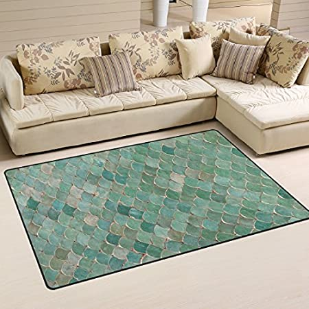 51TVN6xGDoL._SS450_ 50+ Mermaid Themed Area Rugs