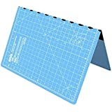 ANSIO A3 Foldable Self Healing Cutting Mat Imperial 17 Inch x 11 Inch - Sky Blue