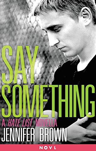 Image result for say something jennifer brown