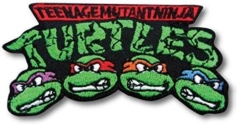 アイロンワッペン【Turtles】 タートルズ ロゴワッペン