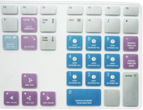 033c9145a29 ... Dogxiong For Apple IMac G6 Keyboard with Numeric Keypad NumberPad Print  With: Apple Final Cut ...
