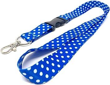 Polka Dot badge holder