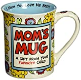 Enesco 4026928 Our Name Is Mud by Lorrie Veasey Mom's Mug, 16-Ounce, 4-1/2-Inch