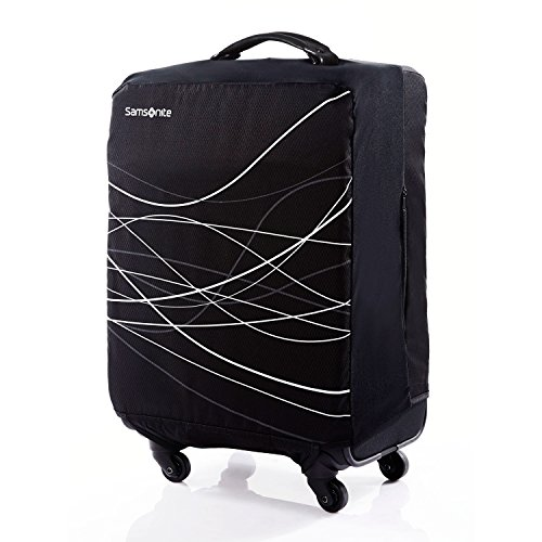 Samsonite Foldable Luggage Cover-Large, Black (Samsonite Luggage 26)