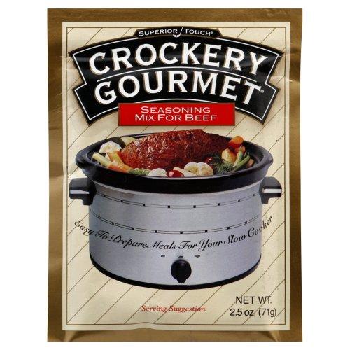 Crockery Gourmet Seasoning Mix - Crockery Gourmet Beef Crockery Cooking Seasoning Mix 2.5 OZ (Pack of 2)