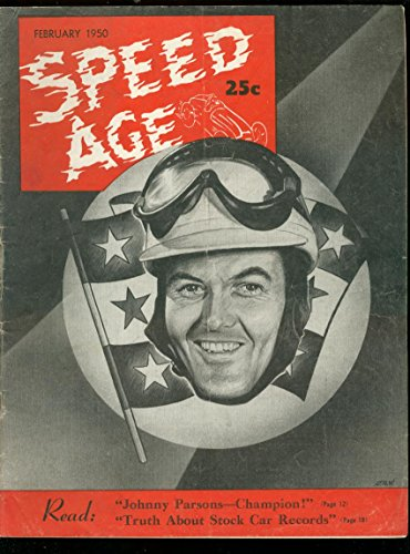 Speed Age 2/1950-Johnny Parsons-Barney Oldfield-Peter DePaolo-Winton Bullet-FN