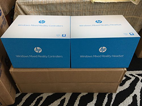 HP - Mixed Reality Headset and Controllers (2018 New) by HP