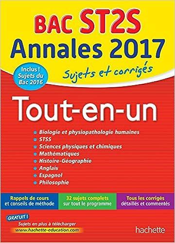 Annales Bac 2017 Sujets Et Corriges Le Tout-En-Un Term ST2S Annales du Bac: Amazon.es: Alain Prost: Libros en idiomas extranjeros