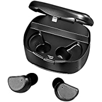 Wireless Bluetooth Earbuds By Juice Box | 2017 Model Headphones/Headset With Portable Charging Case For Jogging, Running & Sports| Ultimate Sweatproof Earphones For Gaming, Videos & Hands-Free Calling