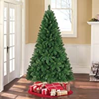 Holiday Time Unlit 6.5' Jackson Spruce Green Christmas Tree