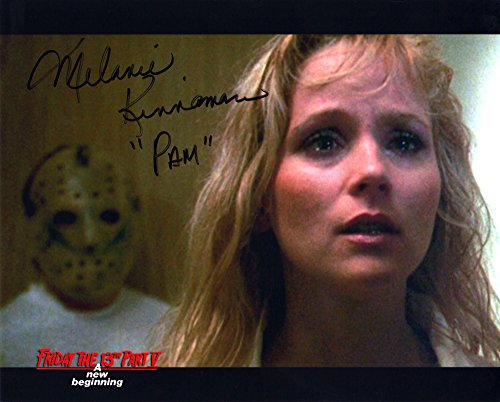 "Melanie Kinnaman Hand Signed 8x10 Photo Friday the 13th Part 5: A New Beginning""Where's Tommy?"" Original New Autograph Color Print Jason Voorhees Horror Movie (Official)"