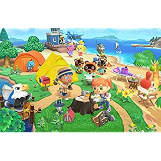 "12"" x 17"" New Horizons - Nintendo Switch Game Poster"