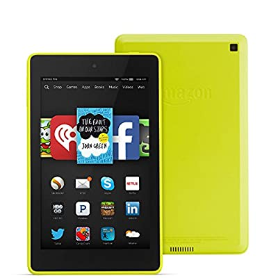 """Fire HD 6, 6"""" HD Display, Wi-Fi, 8 GB - Includes Special Offers, Citron"""