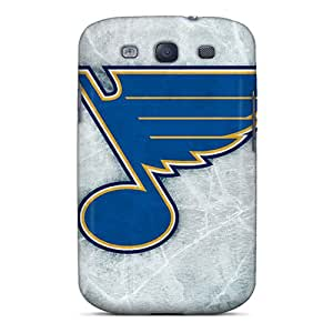 New Fashion Premium Tpu Case Cover For Galaxy S3 - St Louis Blues