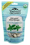Yummy Earth - Organic Candy Drops Gluten Free Wild Peppermint Flavor - 3.3 oz. (93.5g) (pack of 2)