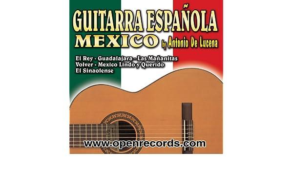 A Ritmo De Guitarra Española - Canciones Mexicanas de Antonio De ...
