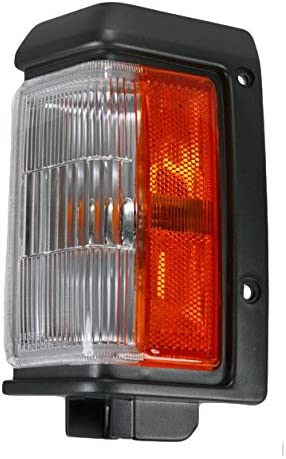 Driver and Passenger Park Signal Corner Marker Lights Lamps Replacement for Nissan SUV 261292W600 261242W600