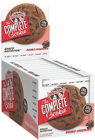 Lenny & Larry's The Vegan Complete Cookie Double Chocolate -- 12 Cookies by Lenny & Larry's