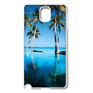 Beautiful Maldives Unique Design Cover Case with Hard Shell Protection for Samsung Galaxy Note 3 N9000 Case lxa#470220