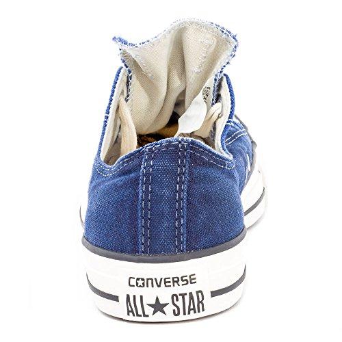 Converse All Star Ox Homme Baskets Mode Bleu